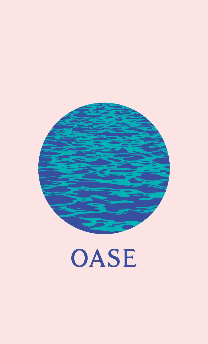 Oase Design Logo Identity Huisstijl Detlet